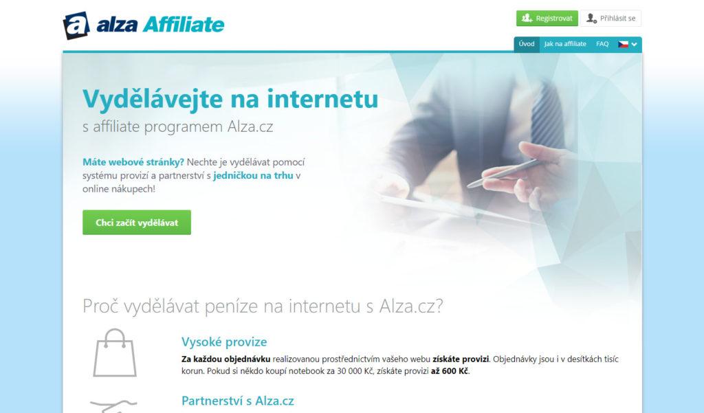 Affiliate sieť Alza.sk