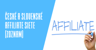 České a slovenské affiliate siete (zoznam)