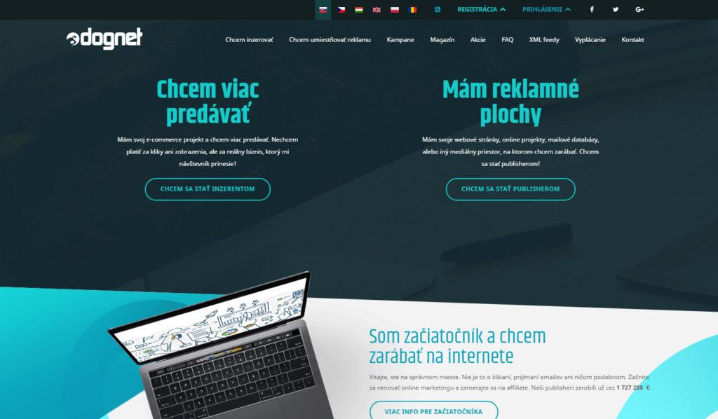 Affiliate sieť Dognet.sk