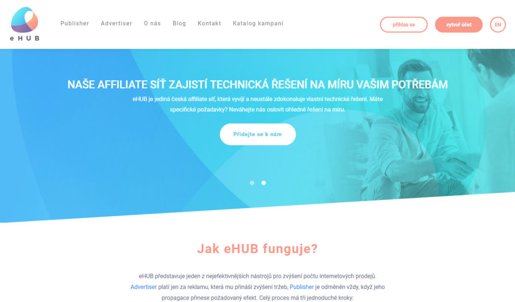 Affiliate sieť eHub.cz