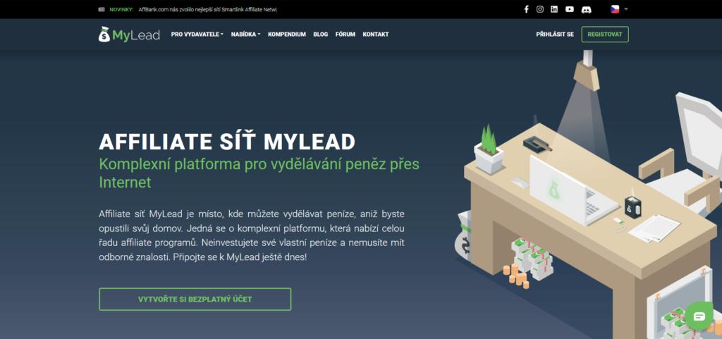 Affiliate sieť MyLead.global