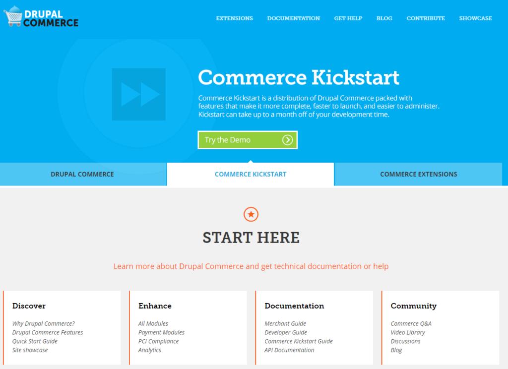 Drupal Commerce platforma na tvorbu e-shopu