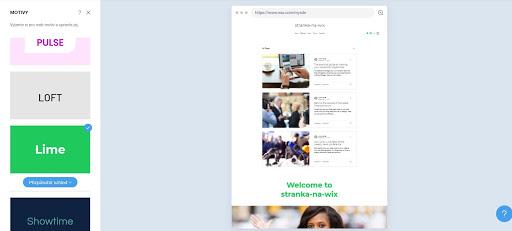 Wix: Jednoduchá úprava štýlu webu