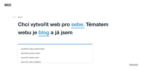 Wix: Skúsenosti s tvorbou webu