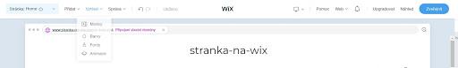 Wix: Upravte vzhľad webu podľa seba