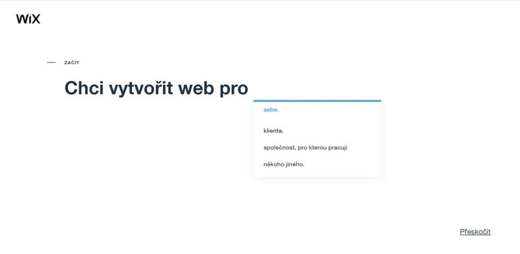 Wix: Web vytváram pre...